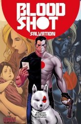 Valiant Entertainment's Bloodshot: Salvation Issue # 1dbl header