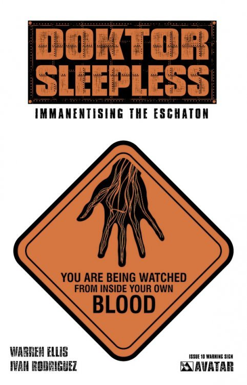 Avatar Presss Doktor Sleepless Issue 10b