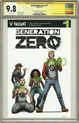 Valiant Entertainment's Generation Zero Issue # 1c