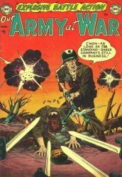 DC Comics's Our Army at War Issue # 1