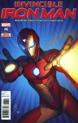 Marvel Comics's Invincible Iron Man Issue # 6