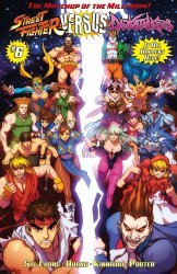 UDON Entertainment's Street Fighter vs Darkstalkers Issue # 6c
