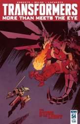 IDW Publishing's Transformers: More Than Meets the Eye Issue # 54sub
