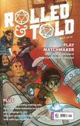 Lion Forge Comics's Rolled & Told Issue # 9