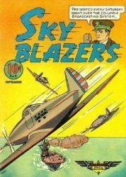 Hawley Publications's Sky Blazers Issue # 1
