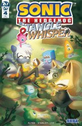 IDW Publishing's Sonic the Hedgehog: Tangle & Whisper Issue # 4ri