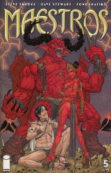 Image Comics's Maestros Issue # 5