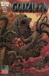 IDW Publishing's Godzilla: Cataclysm Issue # 2
