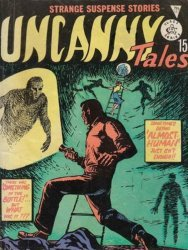 Alan Class & Company's Uncanny Tales Issue # 127