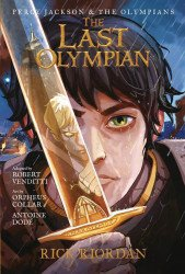 Hyperion Books's Percy Jackson & the Olympians Hard Cover # 5