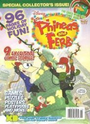 Disney Worldwide Publishing's Phineas and Ferb Special # 2010