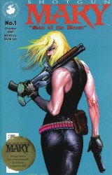 Antarctic Press's Shotgun Mary: Son of the Beast Issue # 1b