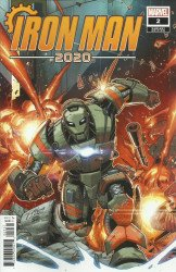 Marvel Comics's Iron Man 2020 Issue # 2c