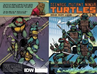 IDW Publishing's Teenage Mutant Ninja Turtles TPB # 14