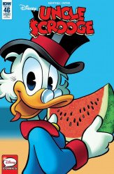 IDW Publishing's Uncle Scrooge Issue # 46ri