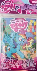 IDW Publishing's My Little Pony: Micro-Fun Pack Issue # 3
