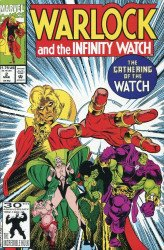 Marvel Comics's Warlock and the Infinity Watch Issue # 2