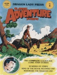 Dragon Lady Press's Classic Adventure Strips Issue # 1