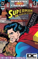 DC Comics's Superman: Man of Steel Issue # 35b