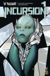 Valiant Entertainment's Incursion Issue # 1e