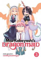 Seven Seas Entertainment's Miss Kobayashi's Dragon Maid Soft Cover # 3