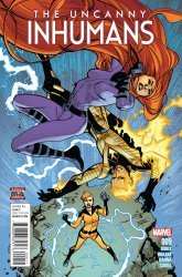 Marvel's The Uncanny Inhumans Issue # 9