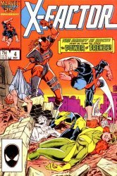 Marvel Comics's X-Factor Issue # 4