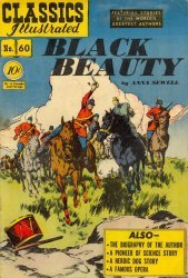 Gilberton Publications's Classics Illustrated #60: Black Beauty Issue # 1