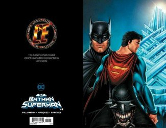 DC Comics's Batman / Superman Issue # 1ce-d