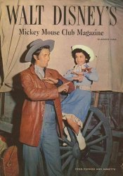 Western Printing Co.'s Walt Disney's Mickey Mouse Club Magazine Issue # 3