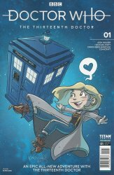Titan Comics's Doctor Who: 13th Doctor Issue # 1i