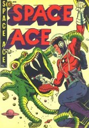 Magazine Enterprises's Space Ace Issue # 5