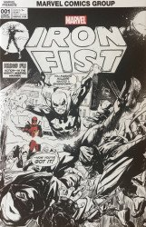 Marvel Comics's Iron Fist Issue # 1hoc/cbcs-b