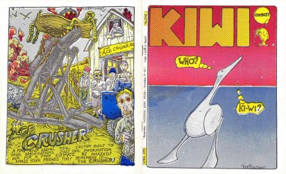 Minneapolis College of Art and Design's Kiwi Comics Issue # 1