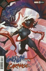Marvel Comics's King in Black: Gwenom vs Carnage Issue # 1b