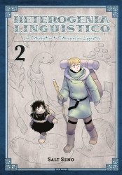 Yen Press's Heterogenia Linguistico: An Introduction To Interspecies Linguistics Soft Cover # 2