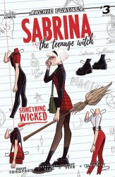 Archie Comics Group's Sabrina the Teenage Witch: Something Wicked Issue # 3b