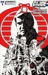 IDW Publishing's G.I. Joe: A Real American Hero vs the Six Million Dollar Man Issue # 1comicspro