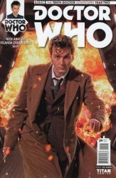 Titan Comics's Doctor Who: 10th Doctor Year Two Issue # 9b