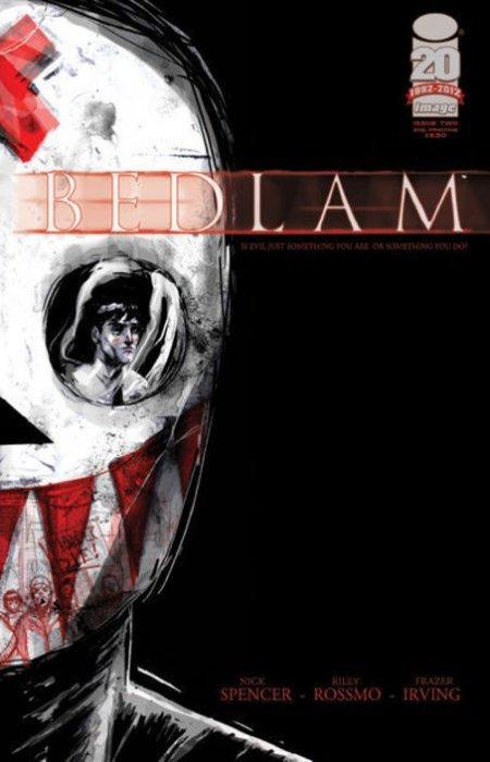 NM First Print Bedlam #1 VF+