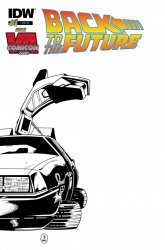 IDW Publishing's Back to the Future Issue # 1kk