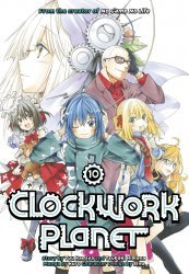 Kodansha Comics's Clockwork Planet Soft Cover # 10