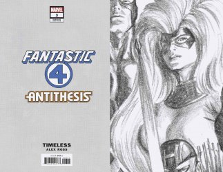Marvel Comics's Fantastic Four: Antithesis Issue # 3d