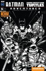 IDW Publishing's Batman / Teenage Mutant Ninja Turtles Adventures Issue # 5re-idw con