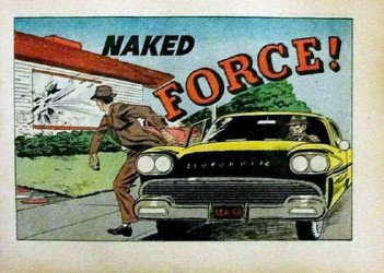 Commercial Comics's Naked Force! Issue nn
