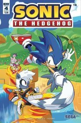 IDW Publishing's Sonic the Hedgehog Issue # 4