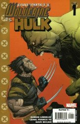 Ultimate Marvel's Ultimate Wolverine vs Hulk Issue # 1