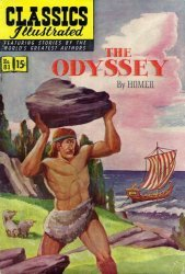 Gilberton Publications's Classics Illustrated #81: The Odyssey Issue # 2
