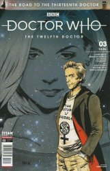 Titan Comics's Doctor Who: The Road To The 13th Doctor Issue # 3
