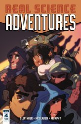 IDW Publishing's Real Science Adventures Nicodemus Job Issue # 4b